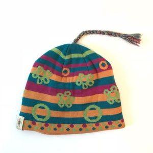 Smartwool Festive Beanie Hat With Tassel wool